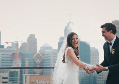 Courtney and Nick's Detroit Yacht Club Wedding
